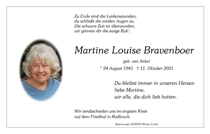Profilbild von Martine Bravenboer